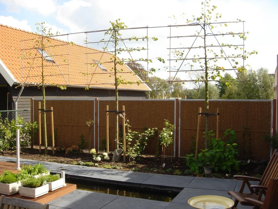 Sichtschutzw nde mit kokosfaser kokosystems for Cheap garden privacy ideas